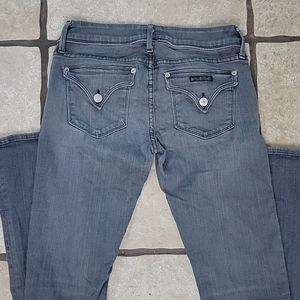 Hudson Jeans Grey Beth Baby Boot Cut 27